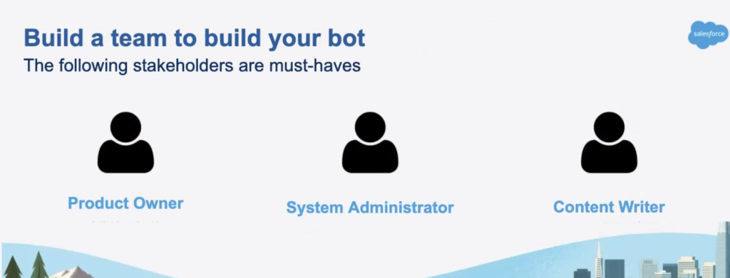 Build a team to build your bot