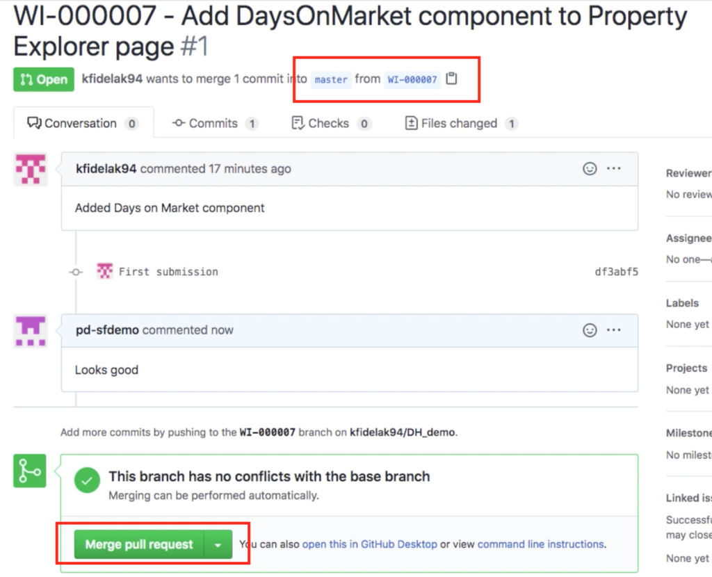 Add DaysOnMarket component to property Explorer page #1