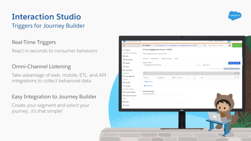 Interaction Studio - Triggers for Journey Builder | Salesforce | Concretio