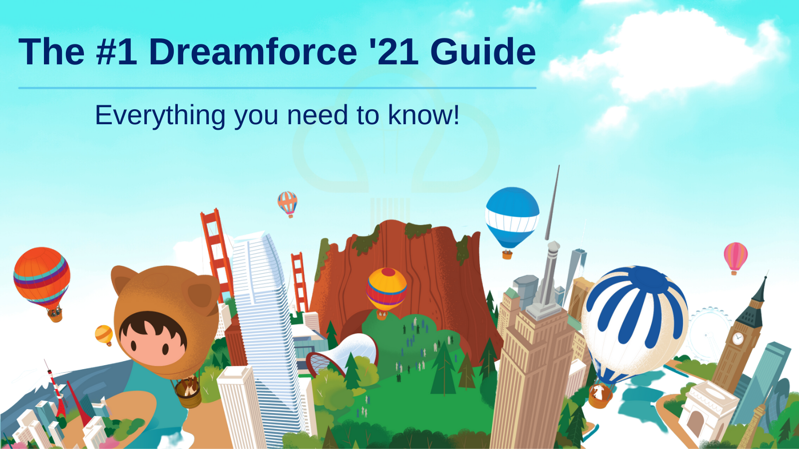 The #1 Dreamforce '21 Guide Everything you need to know | Concretio Apps